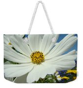 Daisy Flower Garden Artwork Daisies Botanical Art Prints Weekender Tote Bag