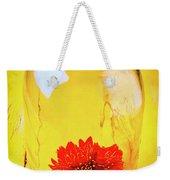 Daisy In Glass Jar Weekender Tote Bag