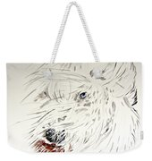 Daisy In The Snow Weekender Tote Bag