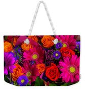 Daisy Rose Bouquet Weekender Tote Bag