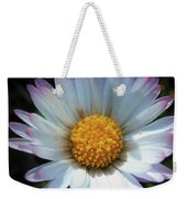 Daisy Under Sun Weekender Tote Bag