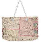 Dakota And Wyoming Weekender Tote Bag