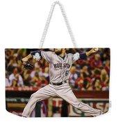 Dallas Keuchel Baseball Weekender Tote Bag