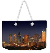 Dallas Skyline At Dusk  Weekender Tote Bag
