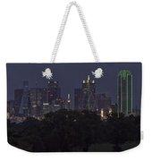 Dallas Trinity River Panorama Weekender Tote Bag