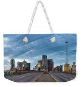 Dallas View At Dusk Weekender Tote Bag