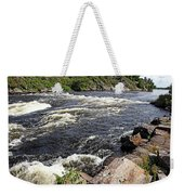 Dalles Rapids French River I Weekender Tote Bag
