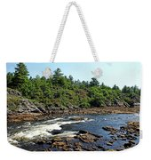 Dalles Rapids French River Ontario Weekender Tote Bag