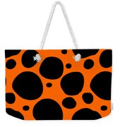 Dalmatian  Black Pattern 03-p0173 Weekender Tote Bag