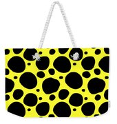 Dalmatian  Black Pattern 05-p0173 Weekender Tote Bag