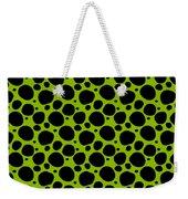 Dalmatian  Black Pattern 09-p0173 Weekender Tote Bag