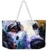 Dalmatian Dog Painting Weekender Tote Bag