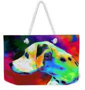Dalmatian Dog Portrait Weekender Tote Bag