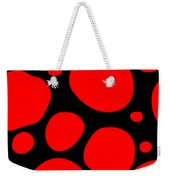 Dalmatian Pattern With A Black Background 02-p0173 Weekender Tote Bag