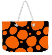 Dalmatian Pattern With A Black Background 03-p0173 Weekender Tote Bag