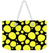 Dalmatian Pattern With A Black Background 05-p0173 Weekender Tote Bag