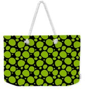 Dalmatian Pattern With A Black Background 09-p0173 Weekender Tote Bag