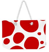 Dalmatian Pattern With A White Background 02-p0173 Weekender Tote Bag