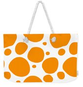 Dalmatian Pattern With A White Background 03-p0173 Weekender Tote Bag