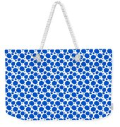 Dalmatian Pattern With A White Background 18-p0173 Weekender Tote Bag