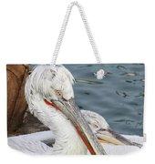 Dalmatian Pelican #3 Weekender Tote Bag