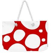 Dalmatian  White Pattern 02-p0173 Weekender Tote Bag
