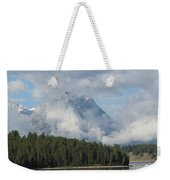 Dam Clouds Weekender Tote Bag