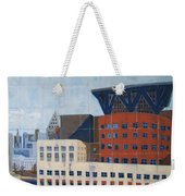 Dam Public Library Weekender Tote Bag by Erin Fickert-Rowland