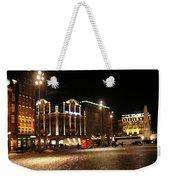 Dam Square Late Night - Amsterdam Weekender Tote Bag