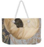 Damask Poppy Weekender Tote Bag