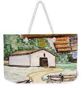 Dan Lawson Barn Weekender Tote Bag