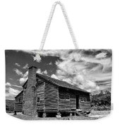 Dan Lawson Place With Brick Chimney Weekender Tote Bag