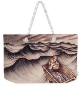 Danae And Her Son Perseus Put In A Chest And Cast Into The Sea Weekender Tote Bag