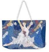 Dance Abstract In The Mix Weekender Tote Bag