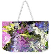 Dance In Violet Weekender Tote Bag