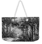 Dance Me To The End Of Love Bw Weekender Tote Bag