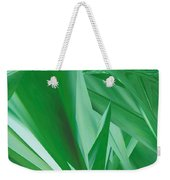Dance Of Green Leaves Weekender Tote Bag