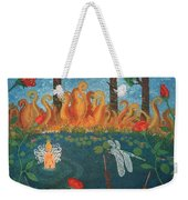 Dance Of The Dragonfly. / The Best Is Yet To Come. Weekender Tote Bag