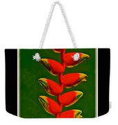 Dance Of The Heliconias Weekender Tote Bag