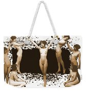 Dance Of The Seven Nudes Weekender Tote Bag