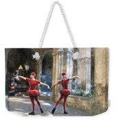 Dance Of The Swiss Guard Weekender Tote Bag
