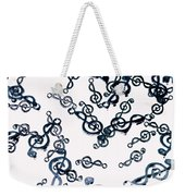 Dance Of The Treble Clef  Weekender Tote Bag