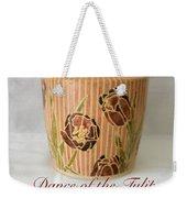 Dance Of The Tulips Weekender Tote Bag