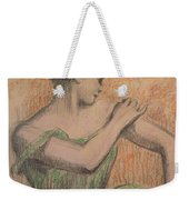 Dancer Weekender Tote Bag by Degas