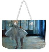 Dancer In Front Of A Window Weekender Tote Bag