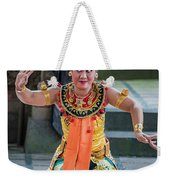 Dancer Of Bali Weekender Tote Bag
