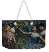 Dancer With A Tambourine Weekender Tote Bag