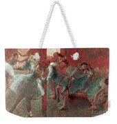 Dancers At Rehearsal Weekender Tote Bag by Edgar Degas