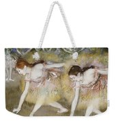 Dancers Bending Down Weekender Tote Bag