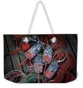 Dances With Lobsters Weekender Tote Bag